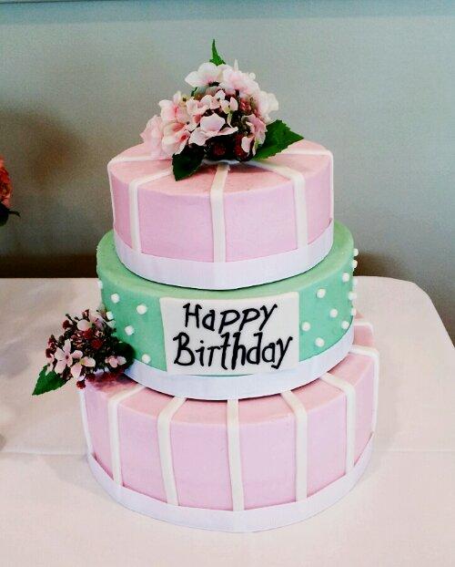 Birthday cake little miss jess image a classy three tier 50th birthday cake publicscrutiny Gallery